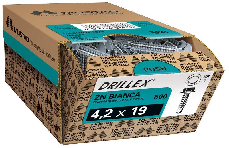 drillex tecc zincata bianca scatola commerciale