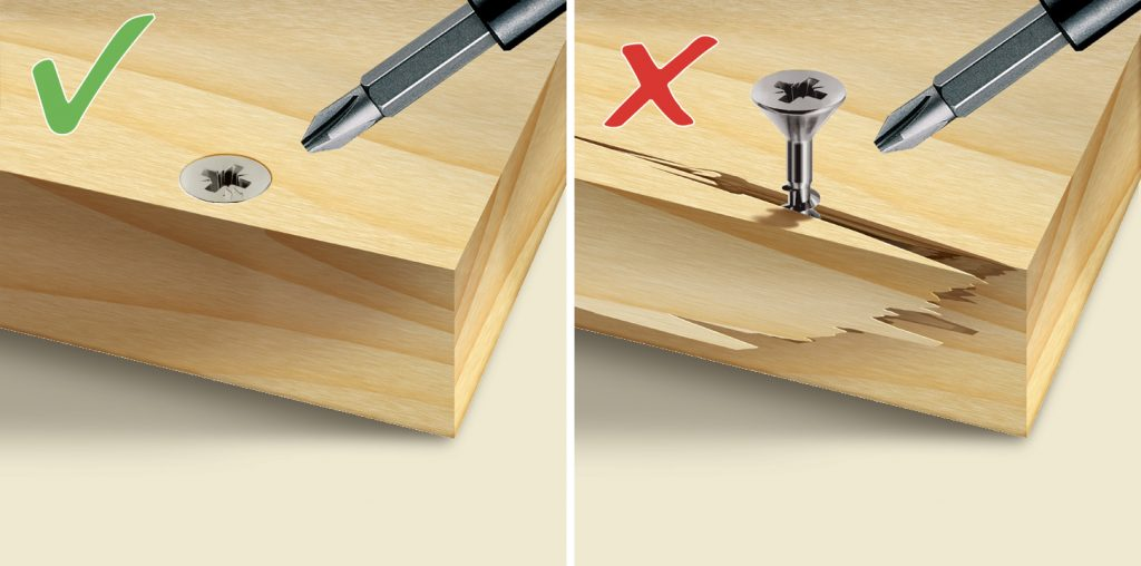 panelvit af chromiting tsp pz applicazione spacco legno