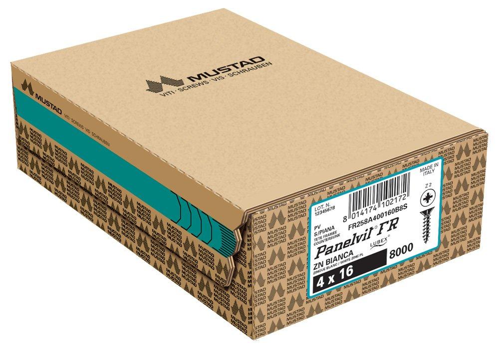 panelvit fr zincata bianca tsp pz scatola industriale