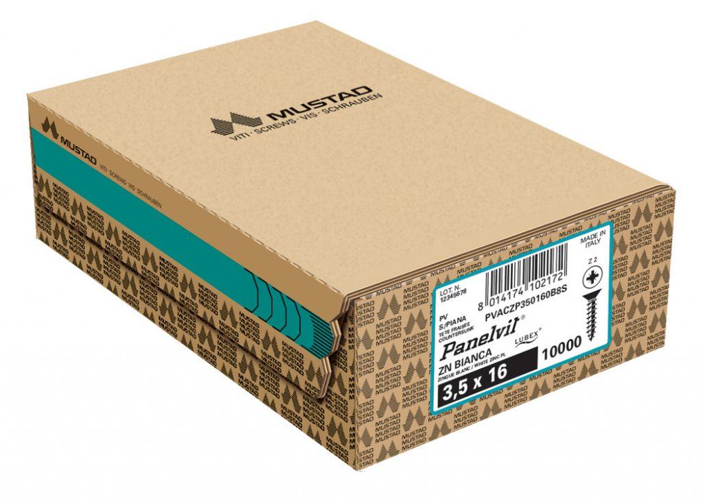 panelvit universale zincata bianca tsp pz scatola industriale