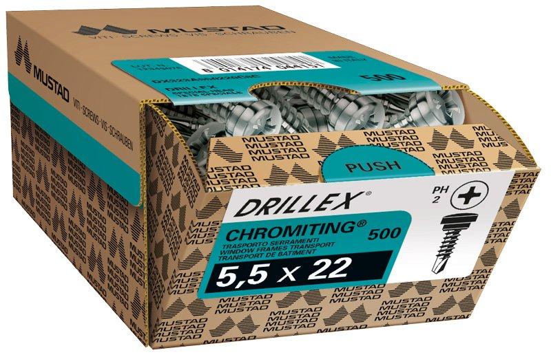 drillex 323A trasporto serramenti chromiting ph scatola commerciale