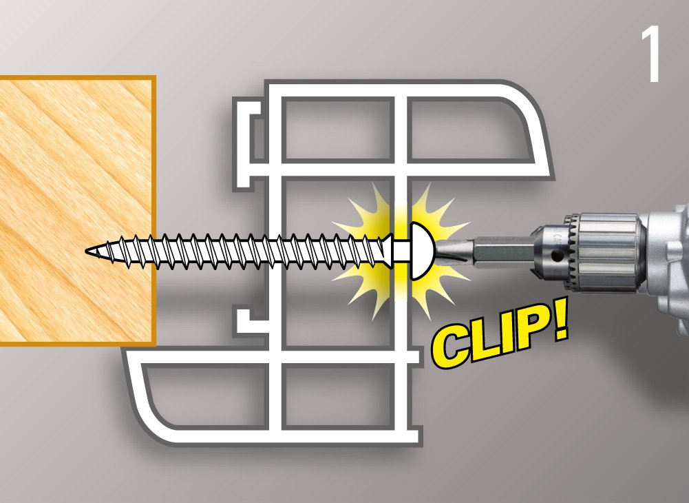 framex clip chromiting tx applicazione avvitamento aggancio