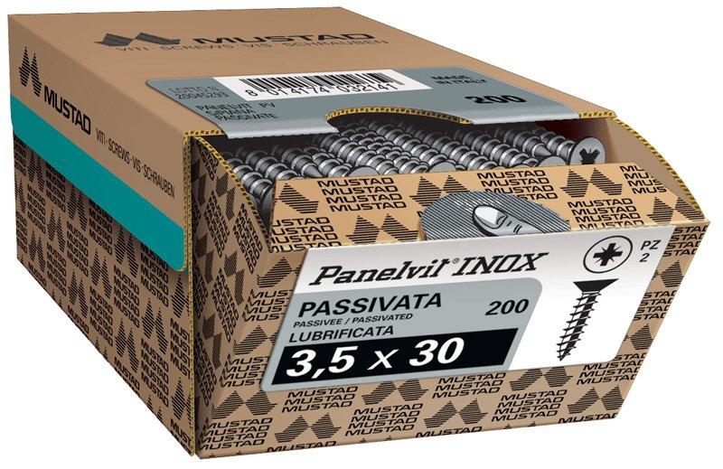 panelvit inox passivata tsp pz scatola commerciale