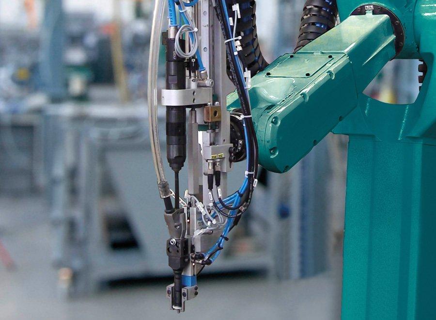 avvitatore automatico robot viti mustad