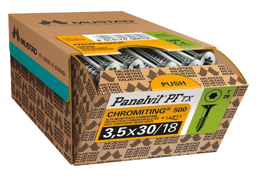 panelvit pf tx chromiting confezione commerciale mustad banda verde
