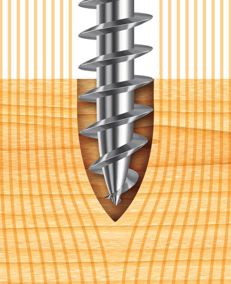 panelvit chromiting zincata bianca punta ogiva